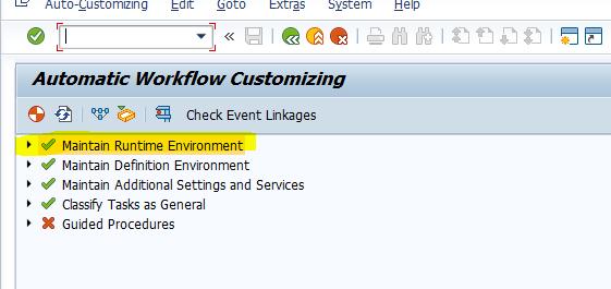 SAP TECH: Workflow Settings & WF-BATCH user
