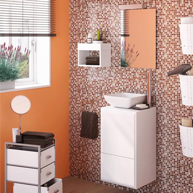 50 fotos de m veis para casa de banho pequena decora o e ideias - Numeros para casas leroy merlin ...