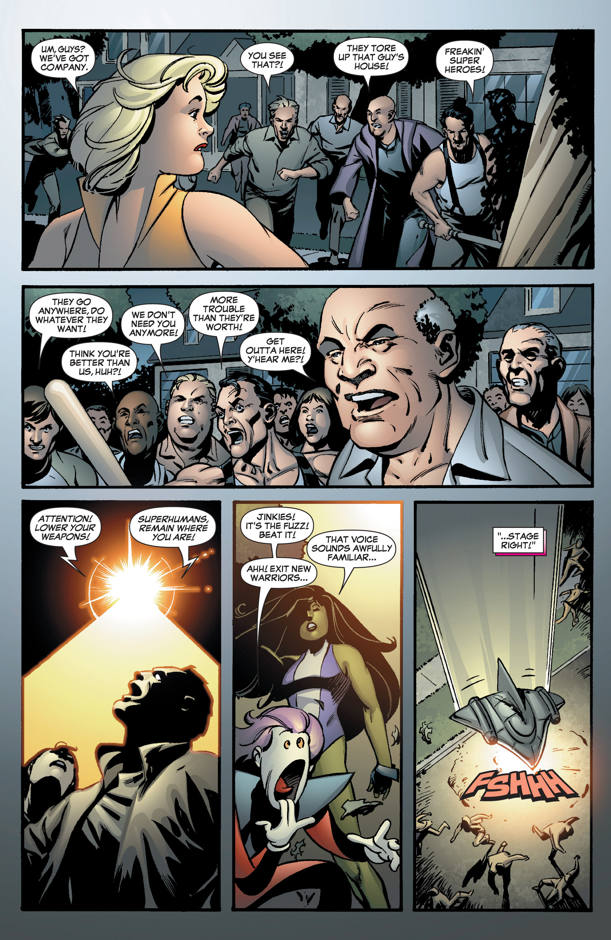 Read online She-Hulk (2005) comic -  Issue #8 - 23