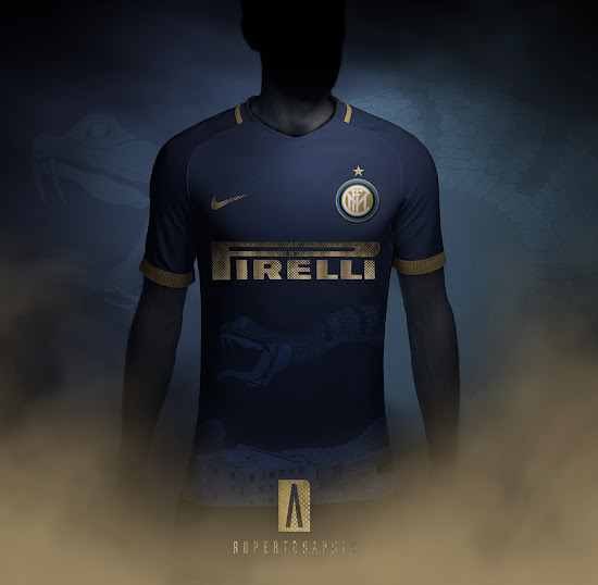 Awesome Nike Inter Milan 18-19 Third Kit Concept by Rupertgraphic ... 0c953e7aa