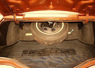 1974 Oldsmobile Toronado Landau Baggage Picture