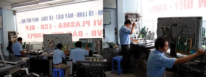 Sửa chữa tivi LCD, Led tại nhà địa bàn Hà Nội