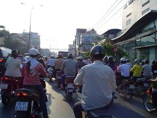 Montando en moto por Vietnam
