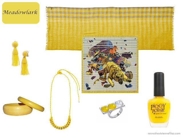 Meadowlark accessories from Pantone Spring 2018 colors