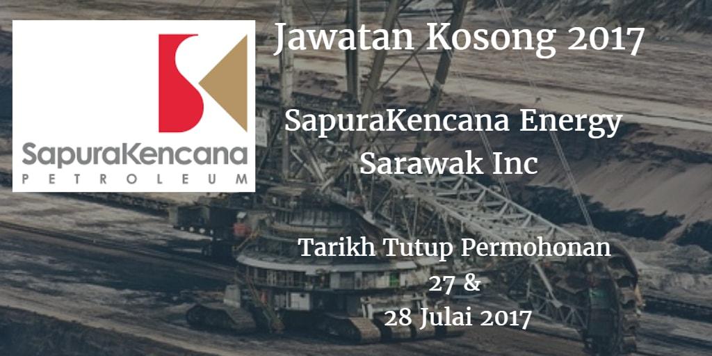 Jawatan Kosong SapuraKencana Energy Sarawak Inc 27 & 28 Julai 2017