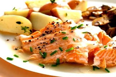 Foto Resep Steak Ikan Salmon Saus Tartar Sajian Sedap Sekejap Langsung Enak