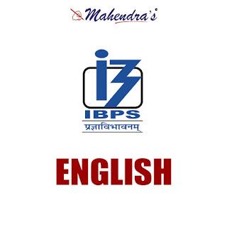 English Language For IBPS PO Mains & Clerk | 14 - 11 - 17