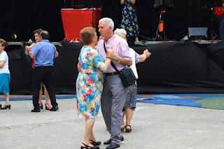 Baile en las fiestas de Retuerto