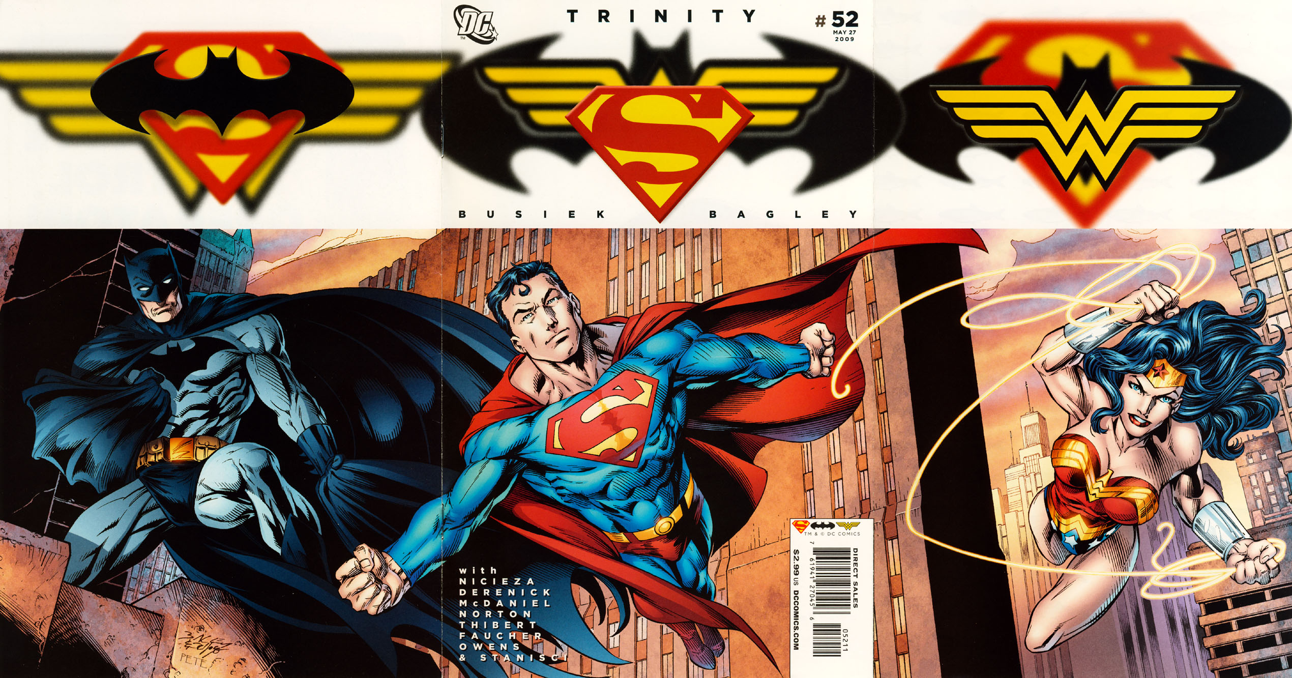 Read online Trinity (2008) comic -  Issue #52 - 1