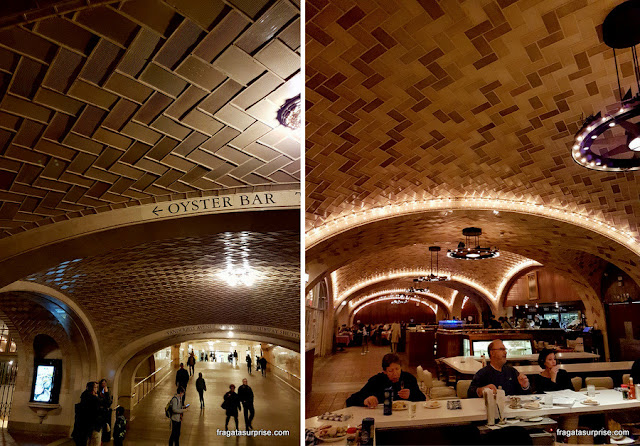 The Oyster Bar, na Grand Central Station, Nova York