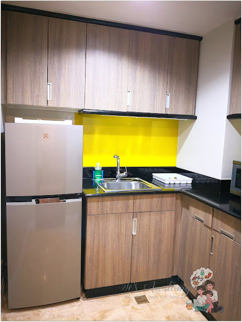 Somerset Millenium Makati Kitchen