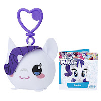 MLP the Movie Rarity Clip and Go Keychain Plush