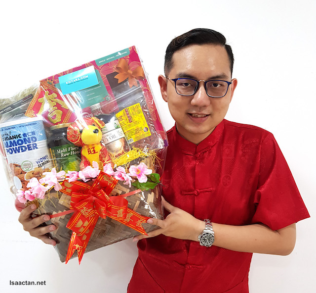 Healthy Koyara Chinese New Year Hampers - Get It Online