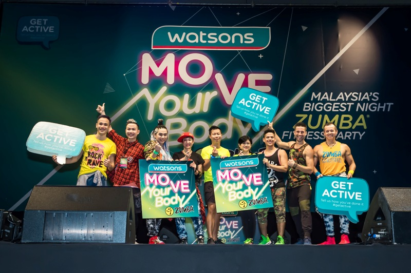 Watsons Move Your Body Zumba 2017