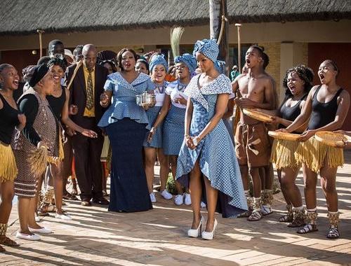 Isidingo Lerato And Sechaba S Sotho Tswana Wedding