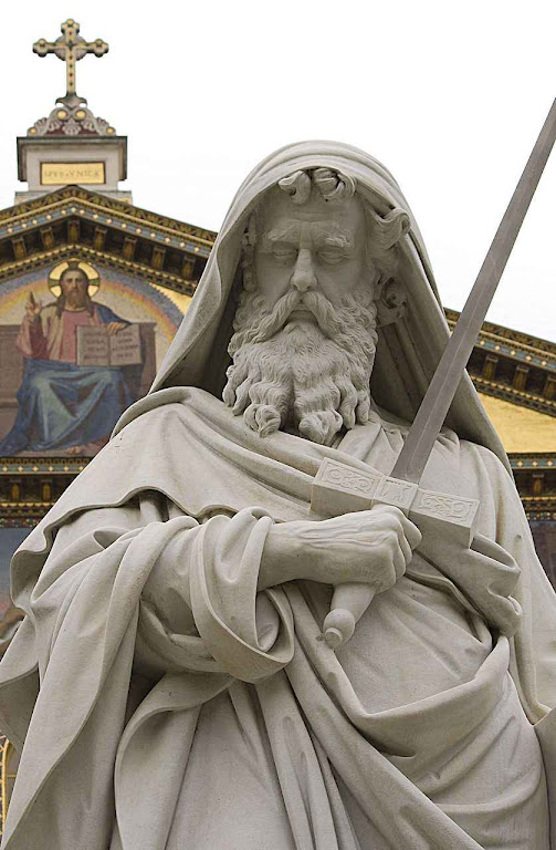 São Paulo Apóstolo, Basílica de San Paolo fuori le mura, Roma.