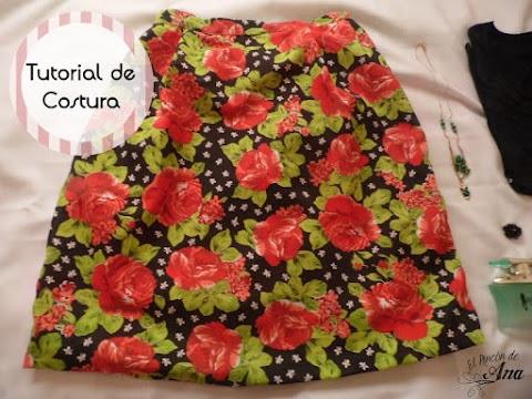 Cómo hacer una falda con tablones