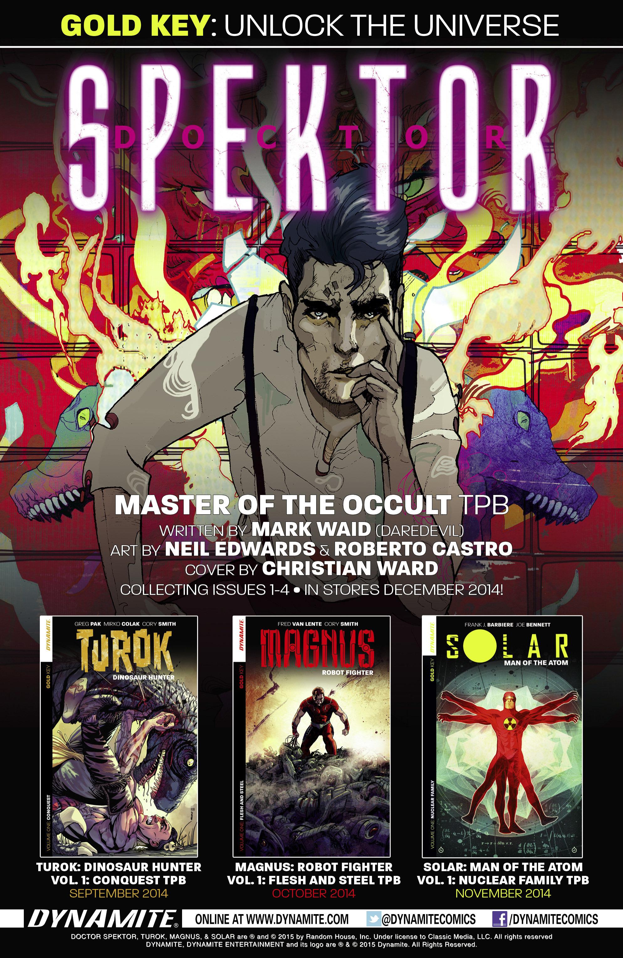 Read online Turok: Dinosaur Hunter (2014) comic -  Issue # _TPB 2 - 113