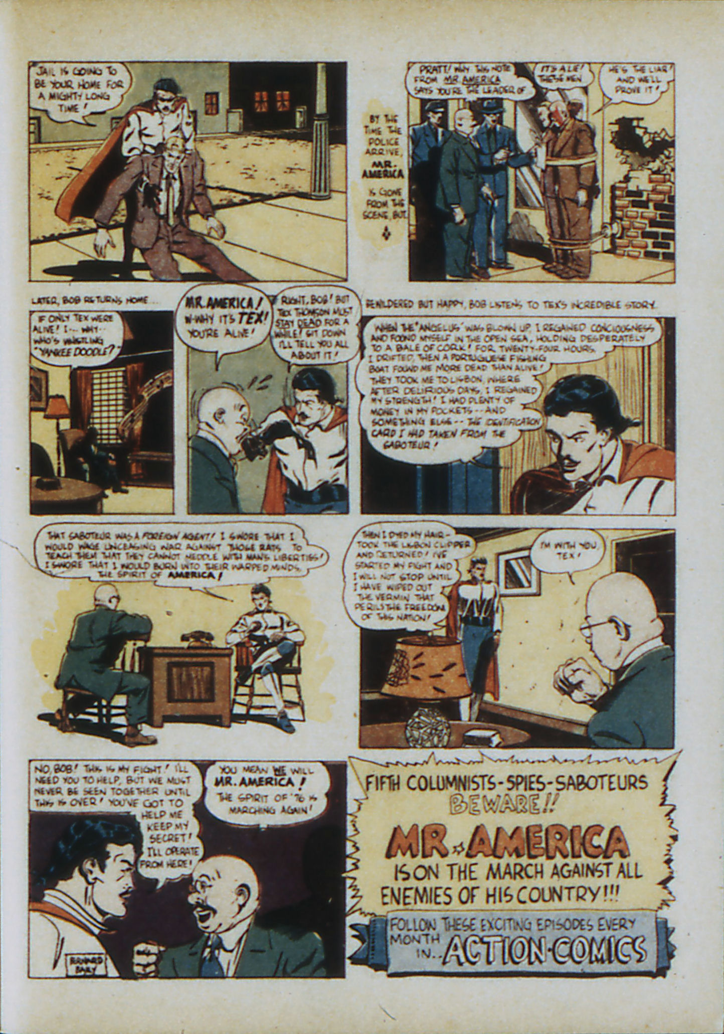 Read online Action Comics (1938) comic -  Issue #33 - 46