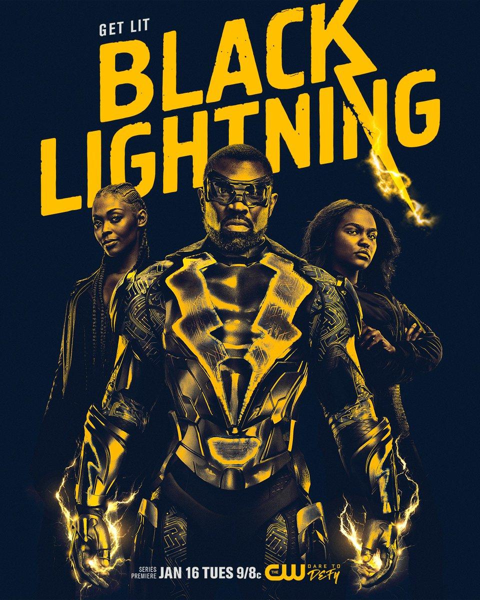 Black Lightning season 1 key art poster