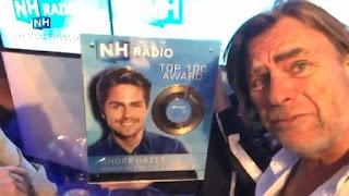 """André Hazes blij met winst NH Radio top 100 Award: """"Luisteraars bedankt!"""""""