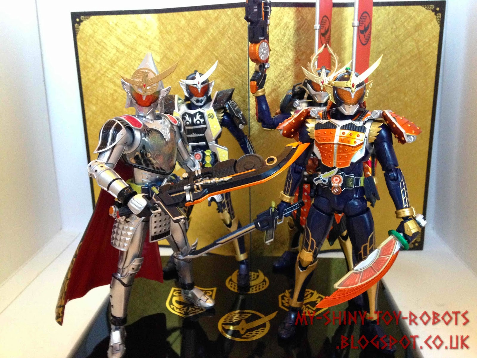 Gaim's 4 main forms together