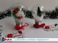 come riciclare le lampadine per natale