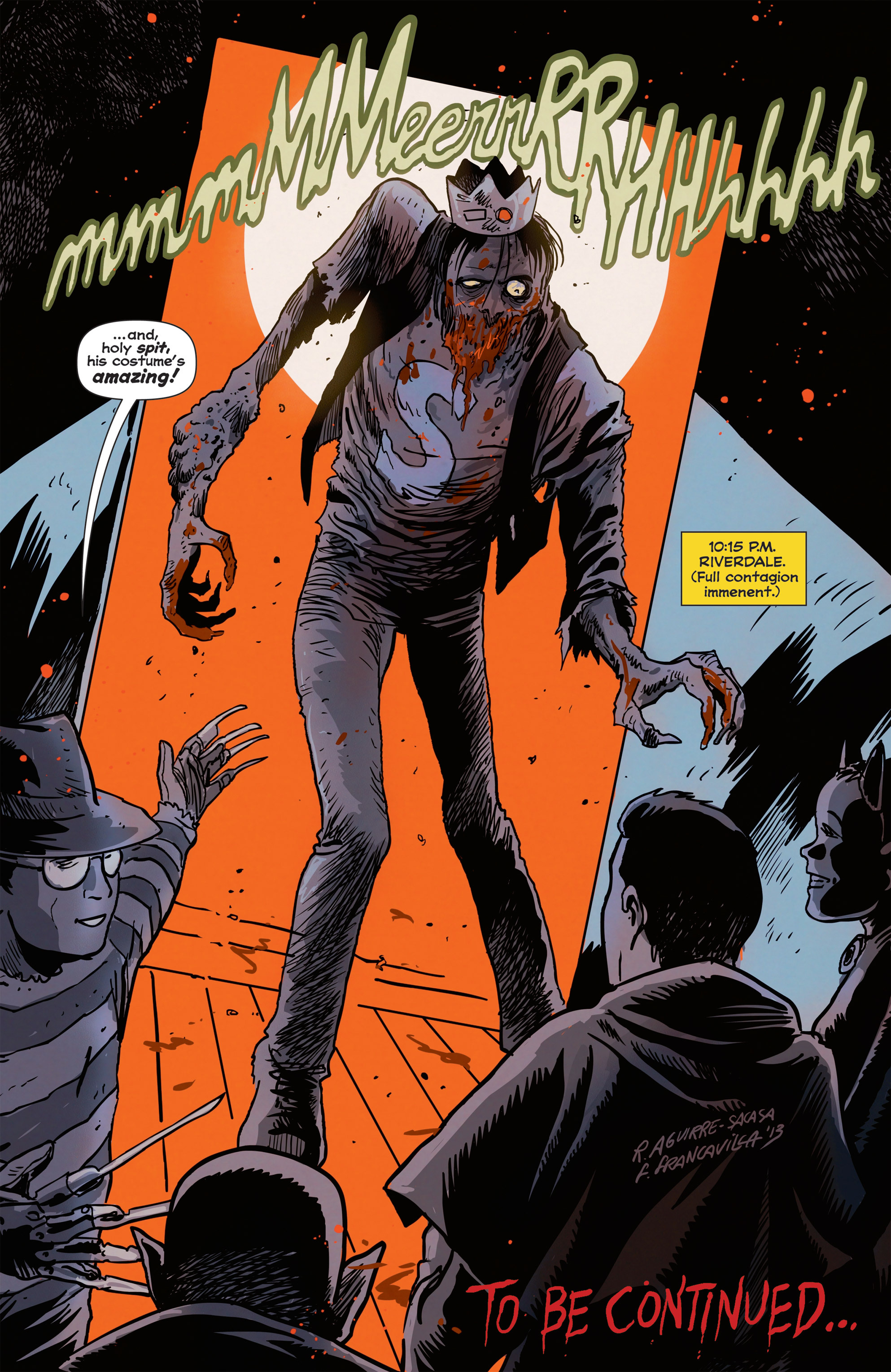 Read online Afterlife with Archie comic -  Issue #1 - 24