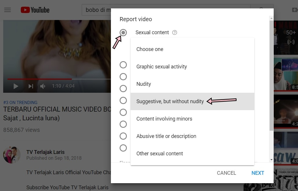 Cara Report Video Youtube Tanpa Perlu View (Mobile & Laptop)