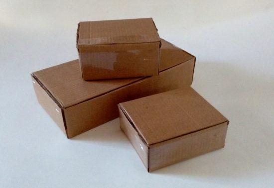 Caixas Papelão Loja Virtual enviar Correios