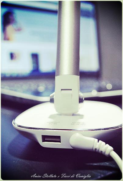 Collaborazione lampada amazon USB