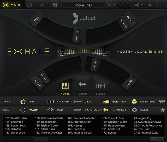 SAMPLE SOUND REVIEW: Output Exhale- INCLUDES 5 EXPANSIONS