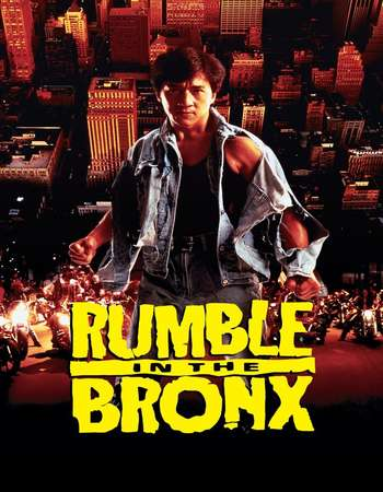 Poster Of Rumble in the Bronx 1995 Dual Audio 720p  ORG [Hindi - English]  Free Download Watch Online 300mb.cc