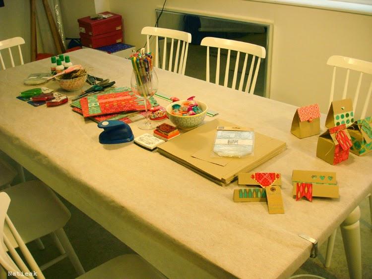 L'atelier créatif: Les petites boites à biscuits