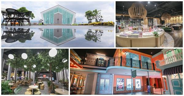 台中秀泰廣場站前店S2館,小書房、玻璃教堂