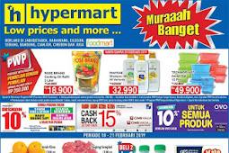 Katalog Promo Hypermart Weekday Terbaru 18 - 21 Februari 2019