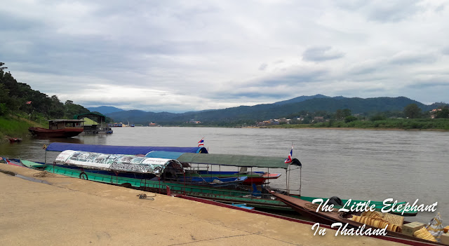 Chiang Khong along the Mekong River