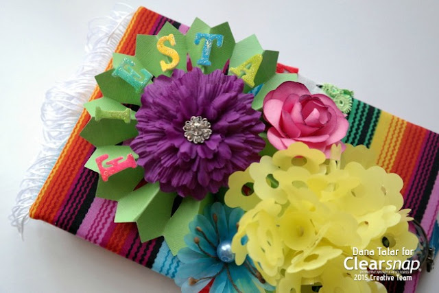 DIY Cinco De Mayo Recipe Album by Dana Tatar for Clearsnap