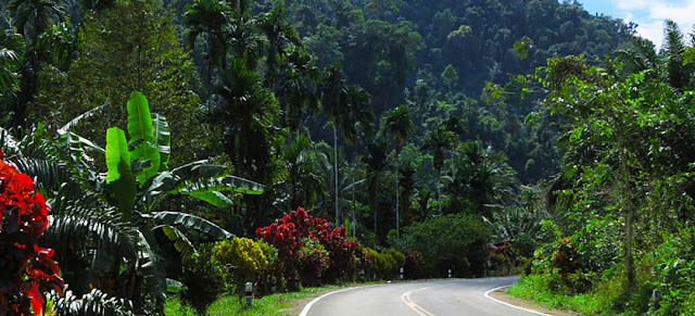 Thailand road travel
