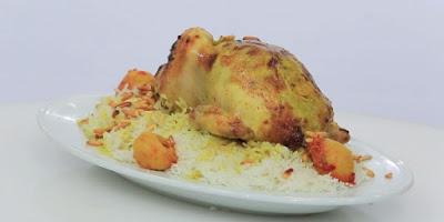 دجاج محمر مع الليمون المخلل