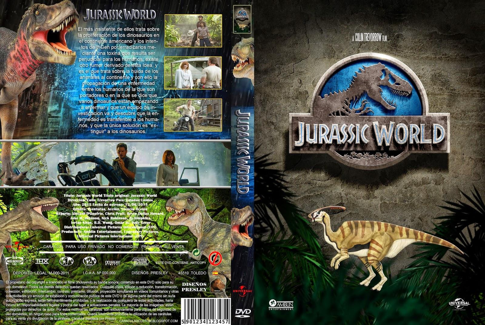 Jurassic World 2 Dvd