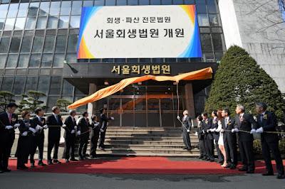 Seoul Bankruptcy Court, Insolvency Law Korea