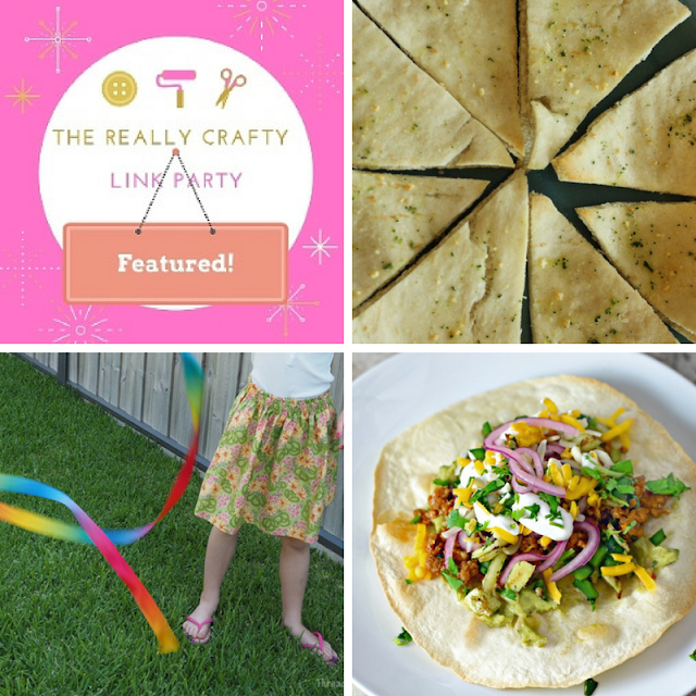 The Really Crafty Link Party #65 featured posts!