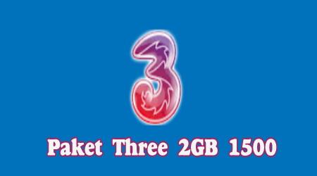 Cara Daftar Paket Harian Tri 2gb 1500 Full 24 Jam  Terbaru