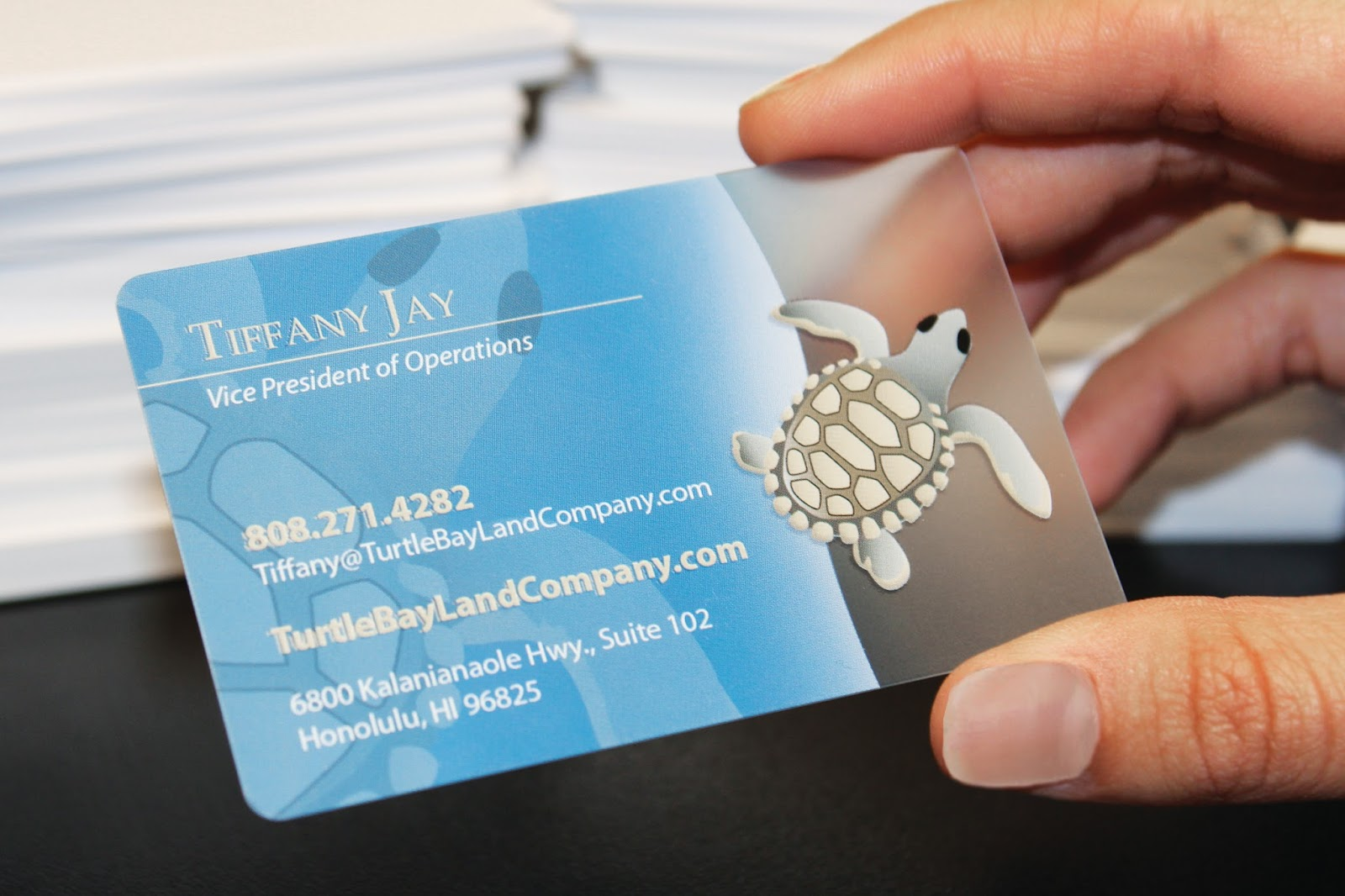 Clear Business Cards Business Card Tips