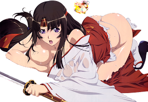 Queen's Blade - Tomoe Render 2