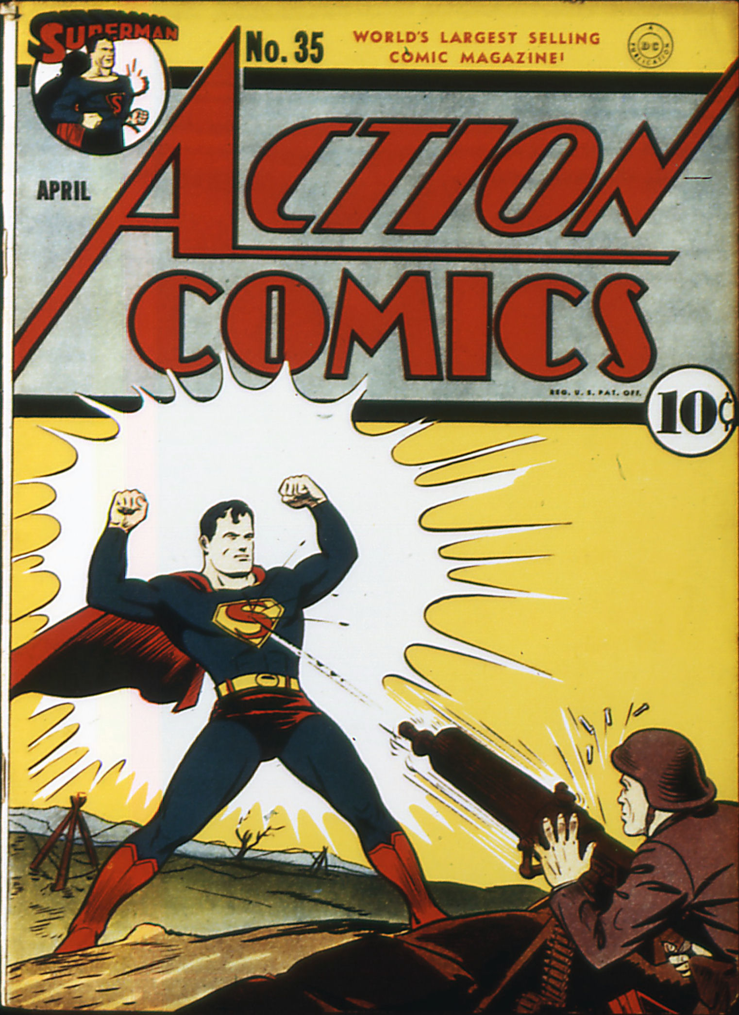 Action Comics (1938) 35 Page 0