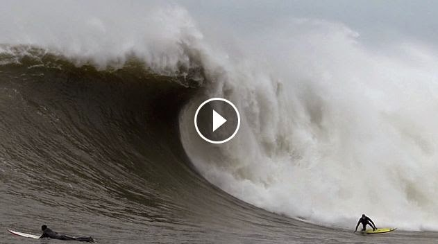 Surfing Massive Mavericks - Dec 20 2014