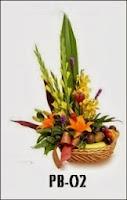 Parsel Buah dan Bunga