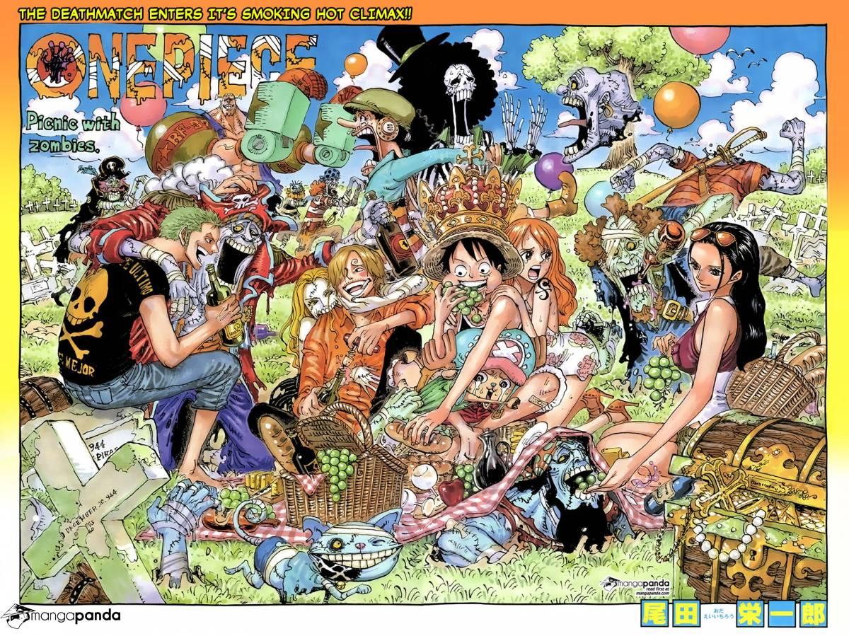 One Piece Ch 784: Gear Fourth